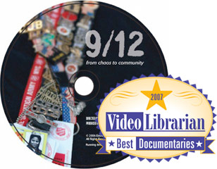DVD 9/12: From Chaos to Community receives Video Librarian Award
